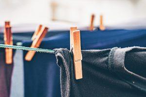 Cuerda de acero y plástico para tender ropa