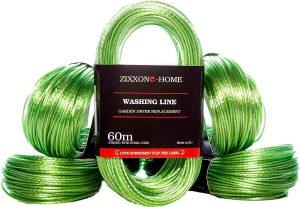 Cuerda de tender ropa de ZIXXONE-HOME de 60 metros