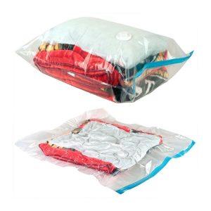 Reducir 80% del espacio con bolsas para envasar al vacío