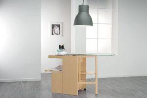 ¿Mesa de planchar fija o tabla plegable?